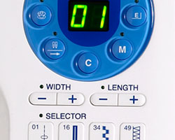 Janome Memory Craft 6300P Controls