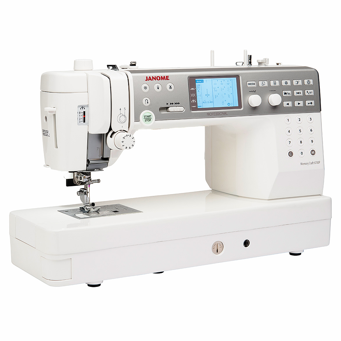 janome memory craft 6700 professional sewing machine