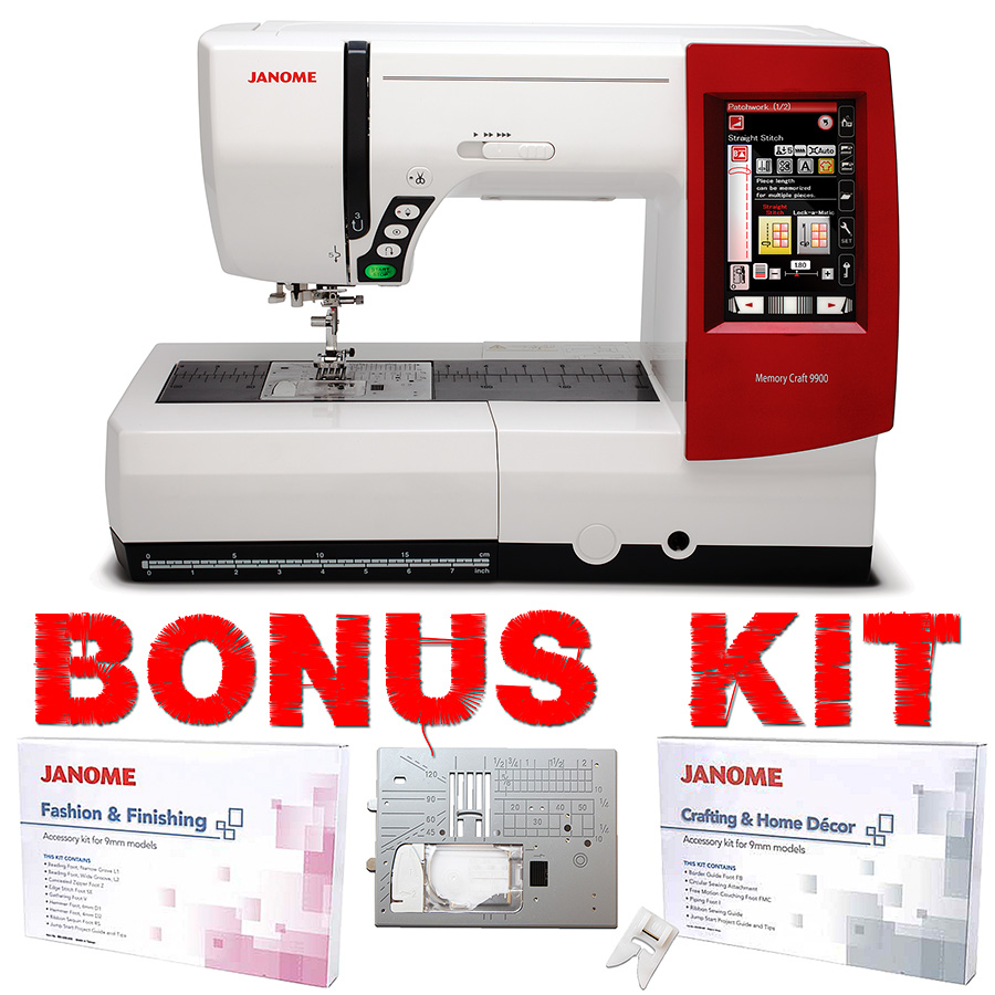 Janome Memory Craft 9900 Sewing & Embroidery Machine