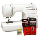 Janome MS5027 Pink Ribbon Limited Edition Sewing Machine w/FREE BONUS