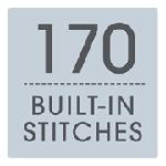 170 Built-in Stitches
