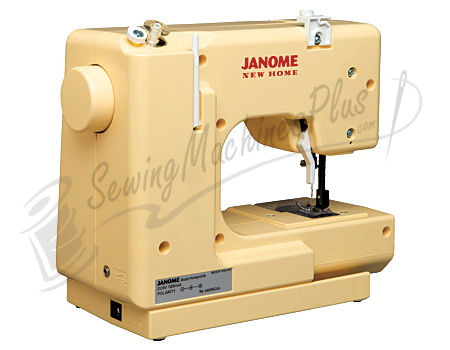 Janome Sew Mini Sewing Machine Honeycomb Best White Sew EZ Mini Sewing Machine