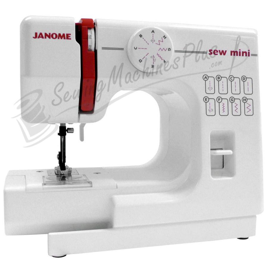 janome sew mini sewing machine rh sewingmachinesplus com Elna Carina Sewing Machine Manual Elna Grasshopper Sewing Machine