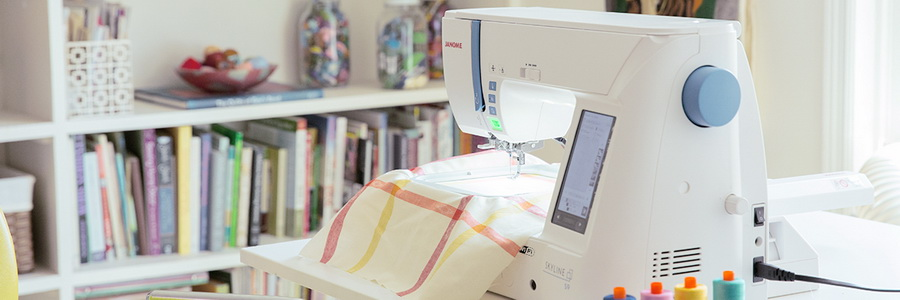 Janome SKYLINE S9 Sewing and Embroidery Machine
