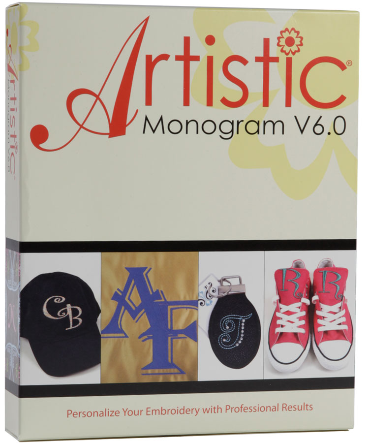 Artistic Monogram V6.0 Software