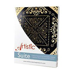 Artistic Suite V7.0 with 4 Round Cutwork Needles (multi needle machines)