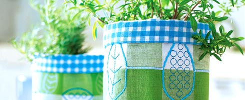 Sew planter pots with Pfaff sewing machines