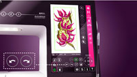 PFAFF Creative Sensation New Graphical User Interface