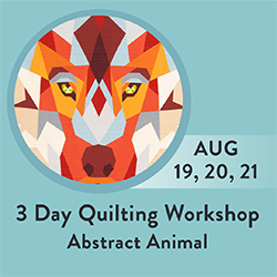 3 Day Quilting Workshop Mission Bay SMP