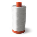 Aurifil Cotton Mako 50wt White 1300m (2024)