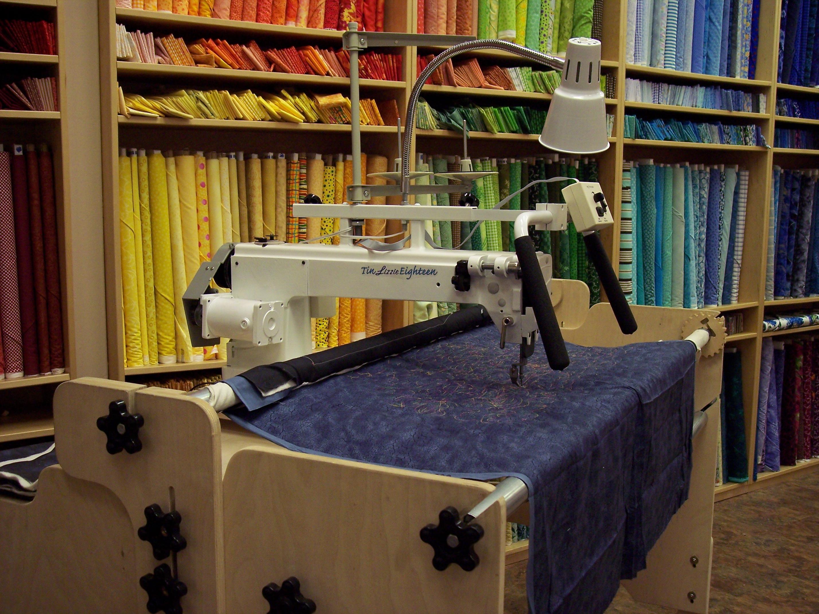 Tin Lizzie 18 Long Arm Quilting Machine W Stitch