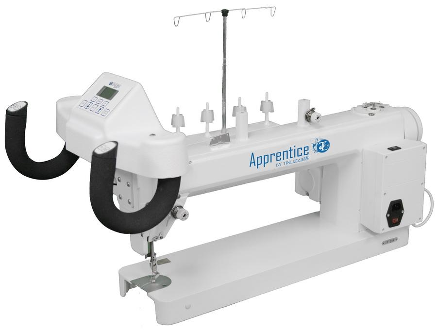 TinLizzie18 Apprentice 18x6 Long Arm Machine