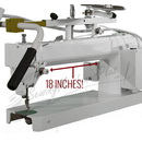TinLizzie18 Empress 18-inch Long Arm Quilting Machine (LIMITED QUANTITY!)