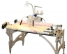 "Queen Quilter 18"" Long Arm Quilting Machine w/ Stitch Regulator & Wood Frame"