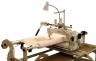 "Queen Quilter 18"" Long Arm Quilting Machine w/ Stitch Regulator & Wood Frame"