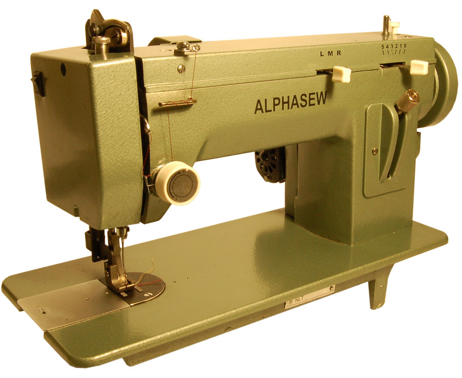 Alphasew PW40ZZ Portable ZigZag Walking Foot Machine Best Walking Foot Zig Zag Sewing Machine