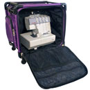 Photo of Tutto 17 Serger on Wheels Purple from Heirloom Sewing Supply