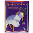 Goddess Sheet 10.75in. X16.5in. Accident-free Fusing
