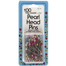 "Collins Pearl Head Pins 1-1/2"" 100ct"