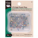 Dritz Pin Ball Point Size 17-175 Pins