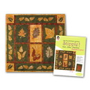 Stipple! Quilt Blocks - Autumn Leaves - Designs in Machine Embroidery