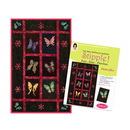 Stipple! Butterflies - One Step Quilting and Applique - Designs in Machine Embroidery