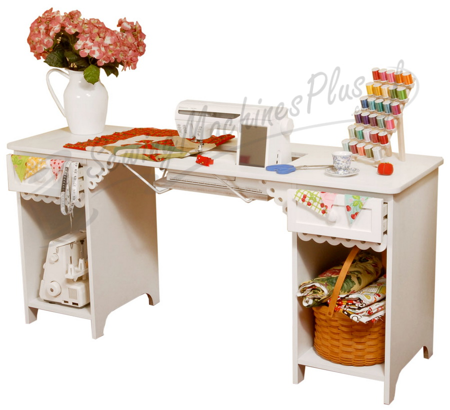 Arrow Olivia Sewing Cabinet In White Model