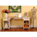 Arrow Olivia Sewing Cabinet in White Model 1001