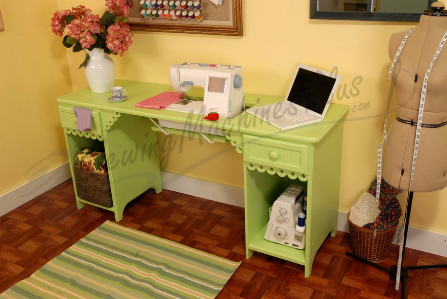 Arrow Olivia Sewing Cabinet In Pistachio Model 1004