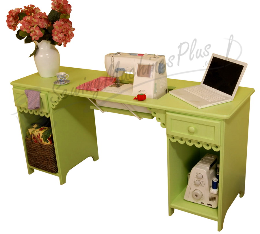 Arrow Olivia Sewing Cabinet in Pistachio Model 1004