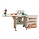 Photo of Arrow 98501 Sewnatra Compact Sewing Cabinet - white finish from Heirloom Sewing Supply