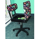 Arrow Height Adjustable Hydraulic Sewing Chair H7013B (Notions Fabric)