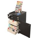Photo of Arrow Suzi Storage Sidekick in Black Model 803 from Heirloom Sewing Supply