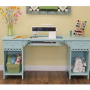 Arrow Olivia Tiffany Blue Sewing Cabinet Model 1009