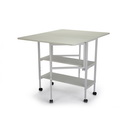 Arrow White Dixie Adjustable Cutting Table