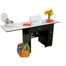 Photo of Arrow Auntie Retro-look Sewing Cabinet - Choose Your Finish from Heirloom Sewing Supply