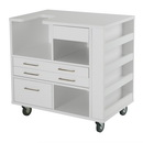 Arrow Ava Embroidery Cabinet - White