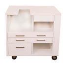 Photo of Arrow Ava Embroidery Cabinet - White from Heirloom Sewing Supply