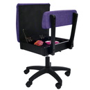 Arrow Adjustable Height Hydraulic Sewing and Craft Chair - Royal Purple