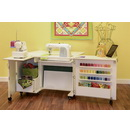 Kangaroo Kabinets Wallaby II Studio Wallaby Air Lift Sewing Cabinet WHITE (WS-WHT)