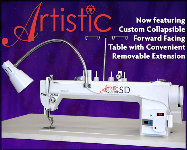 Janome Artistic Quilter 40 Forward Facing Sit Down Package Simple Janome Long Arm Sewing Machine
