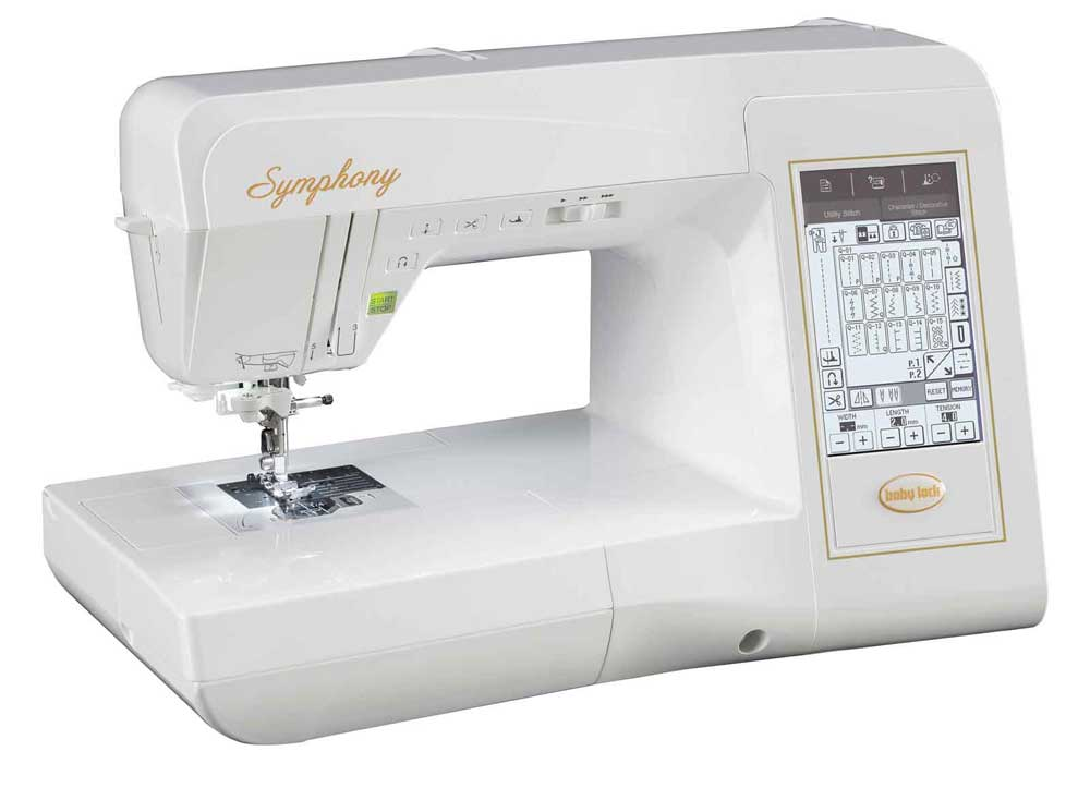 Babylock Symphony Advanced Quilting And Sewing Machine BLSY Cool Babylock Sewing Machines Reviews