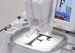 Embroider at 1,000 SPM