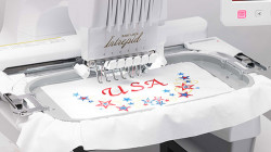7-7/8 inch X 11-3/4 inch EMBROIDERY AREA