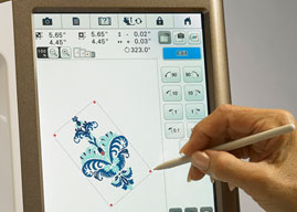 Embroidery Editing and Resizing