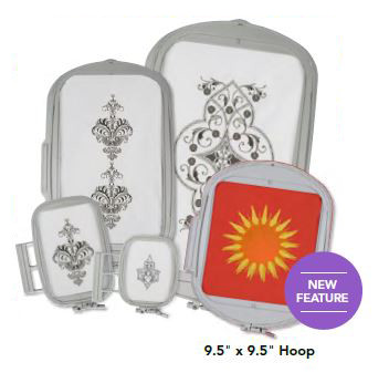 """Hoops for Every Occasion — Up to 9.5"""" x 14"""""""