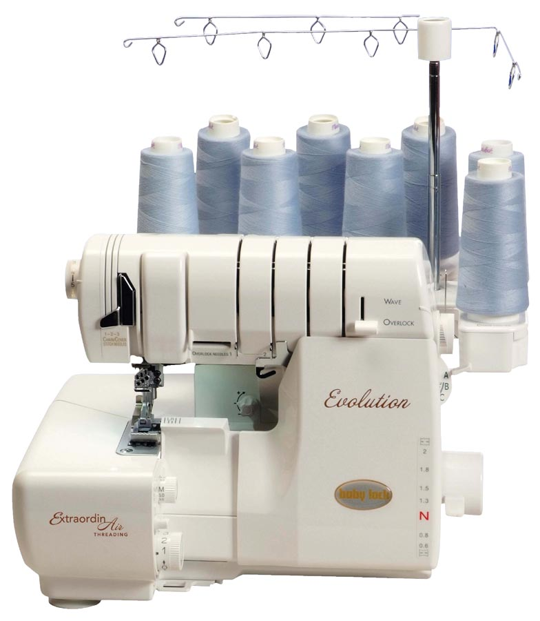 BabyLock Evolution Serger BabyLock Sergers Sewing Machines Plus Unique Sewing Machines Plus