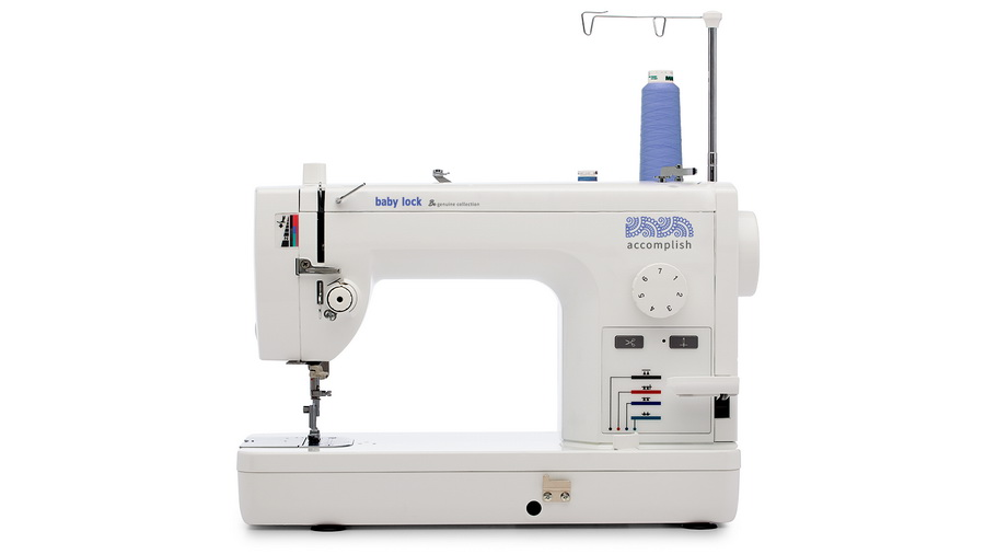 Baby Lock Accomplish Sewing Machine From The Genuine Collection Impressive Baby Lock Grace Sewing Machine Manual