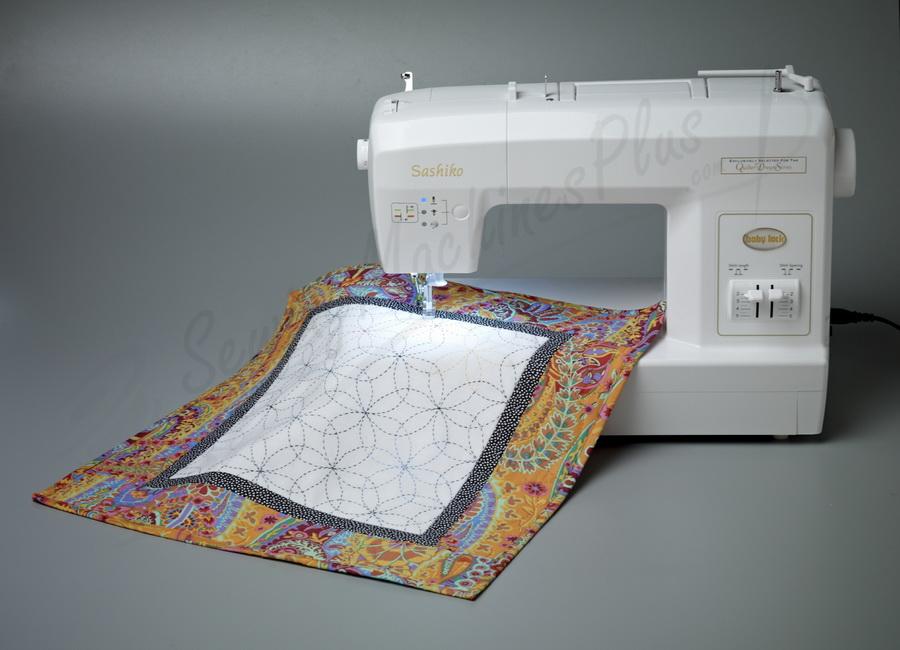 Baby Lock Sashiko 40 Sewing And Quilting Machine BLQK40 Beauteous Sashiko Sewing Machine