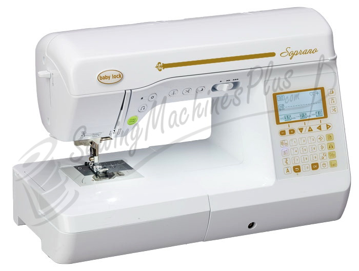 Baby Lock Soprano Sewing Machine Only BLMSP Inspiration Babylock Grace Sewing Machine